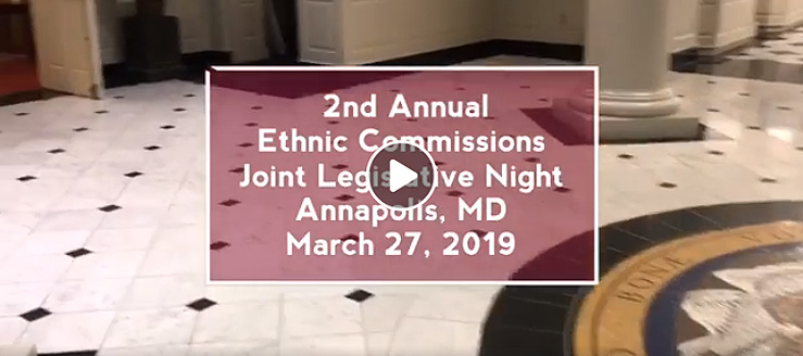 2nd Annual Ethnic Commissions Joint Legislative Night